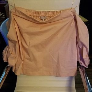 1. State size small super cute off-shoulder blouse